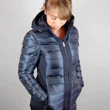 HV Polo Amanda Long Jacket in Navy