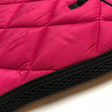 HV Polo Avery Dressage Saddlepad in Ruby Pink
