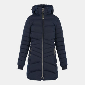 HV Polo Becky Long Jacket in Navy
