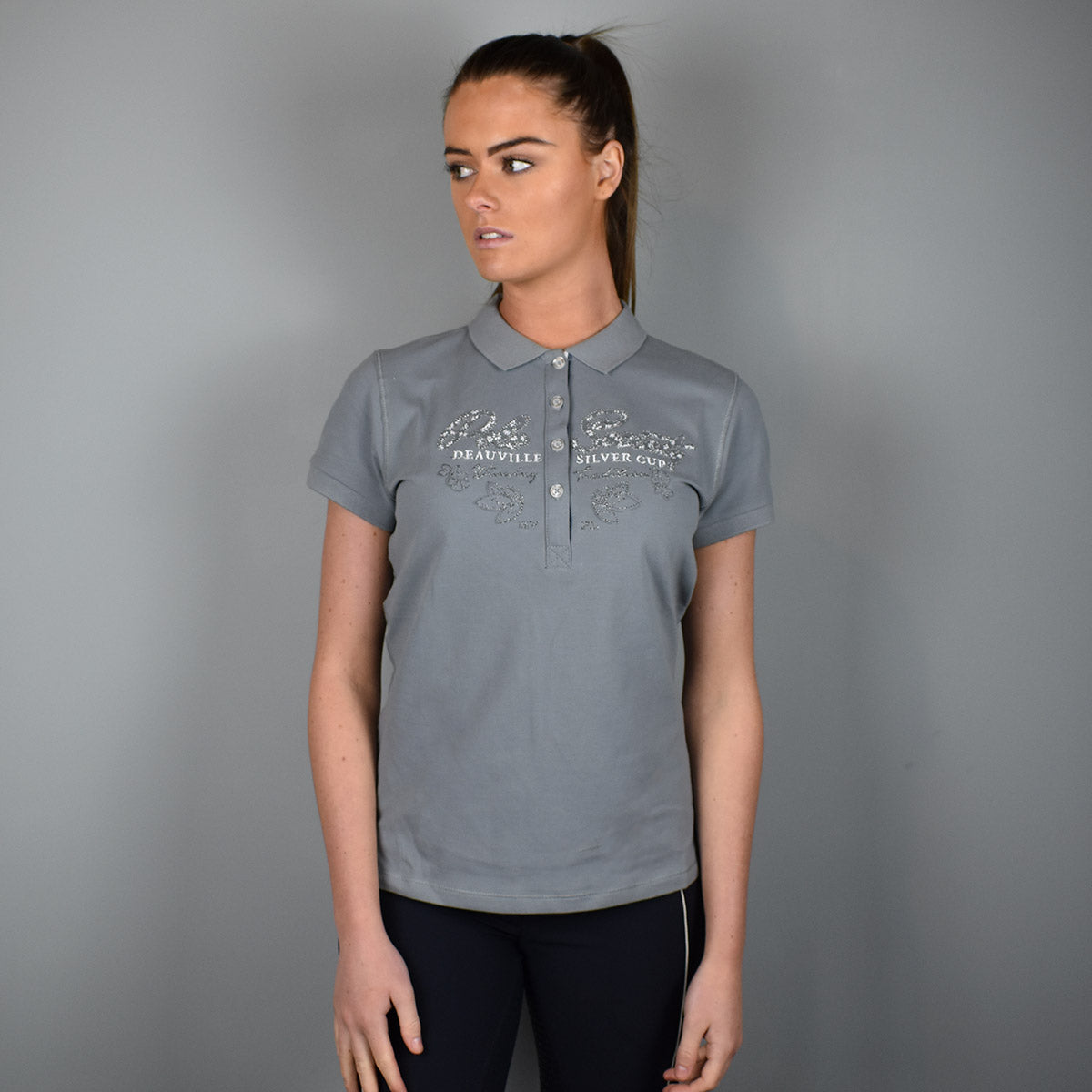 HV Polo Brunelle Polo in Grey
