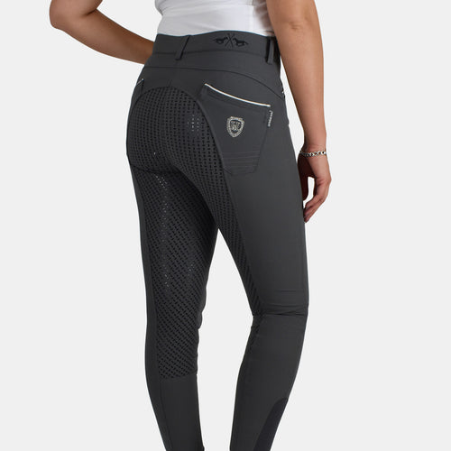 HV Polo Carole FSS Riding Breeches in Grey