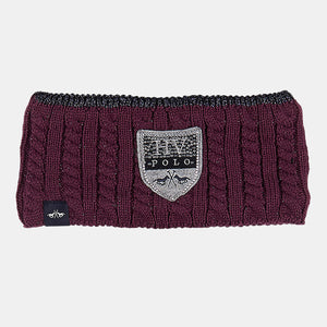 HV Polo Harper Headband in Plum