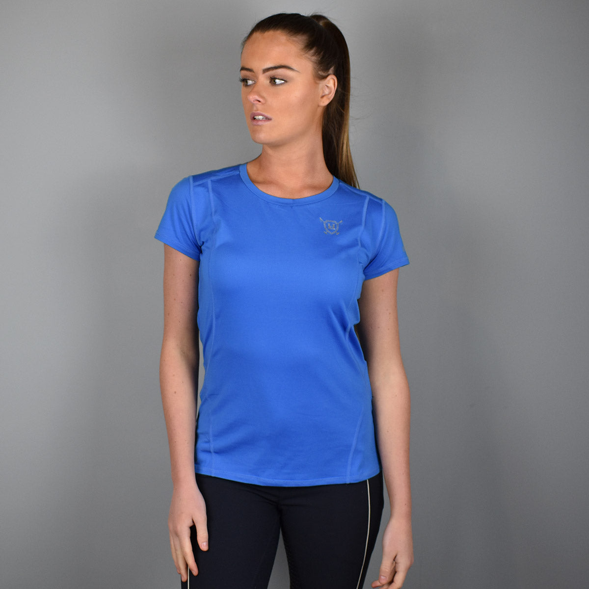 HV Polo Marcella Technical T-Shirt in Marine Blue