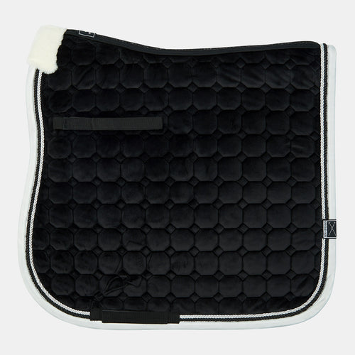 HV Polo Skylar Dressage Saddlepad in Black