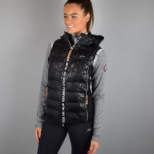 HV Polo Sorrento Padded Bodywarmer in Black