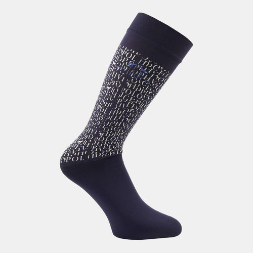 HV Polo York Socks in Navy