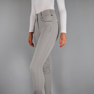 Kingsland Kristina Full Grip Breeches in Beige Dove