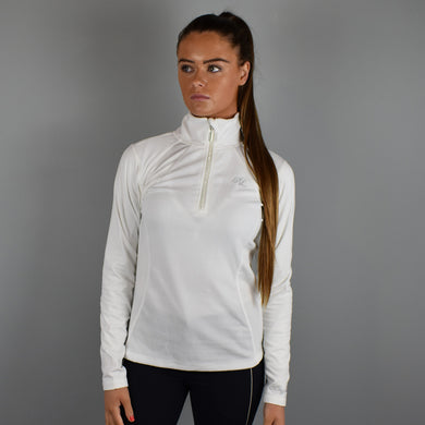 Kingsland Melody Half-Zip Micro Fleece in Cream