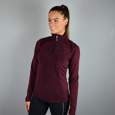 Kingsland Melody Micro Fleece in Red Port Royal