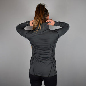 Kingsland Otaki Training Top in Grey Forged Iron