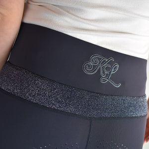 Kingsland Katinka Full Grip Riding Tights in Navy