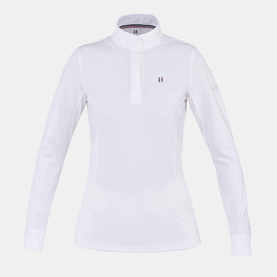 Kingsland Classic Long Sleeve Show Shirt in White
