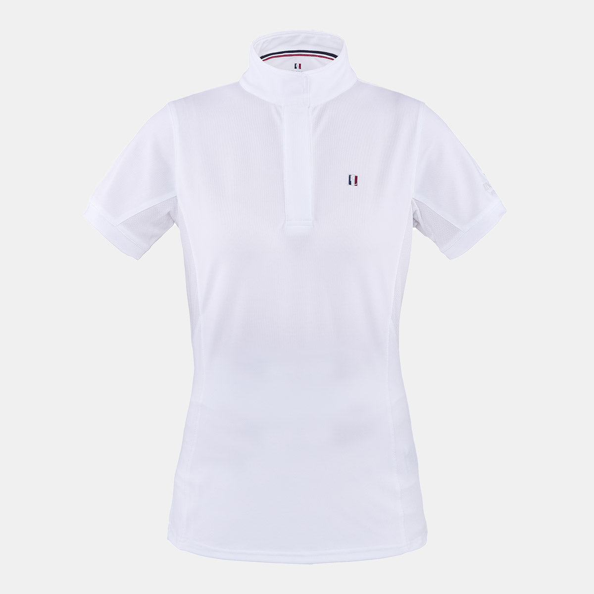 Kingsland Classic Short Sleeve Show Shirt in White