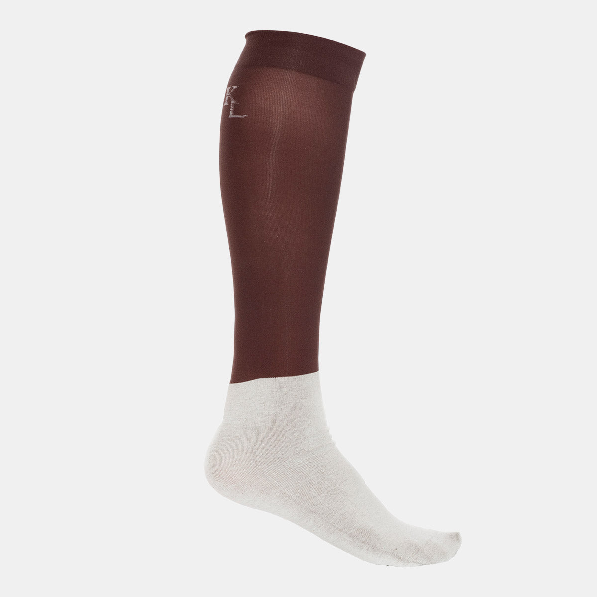 Kingsland Classic Show Socks in Brown