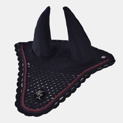 Kingsland Dante Knitted Fly Hat in Black