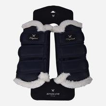 Kingsland Frieda Front Leg Brushing Boots in Navy