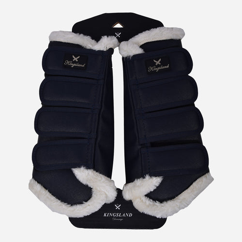 KL Frona Hind Leg Brushing Boots in Navy