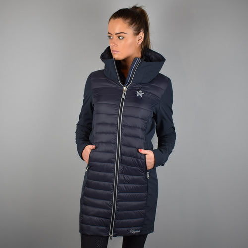 Kingsland Kaikura Long Jacket in Navy