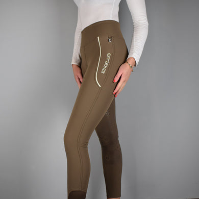 Kingsland Katja FSS Pull On Breeches in Chocolate Chip