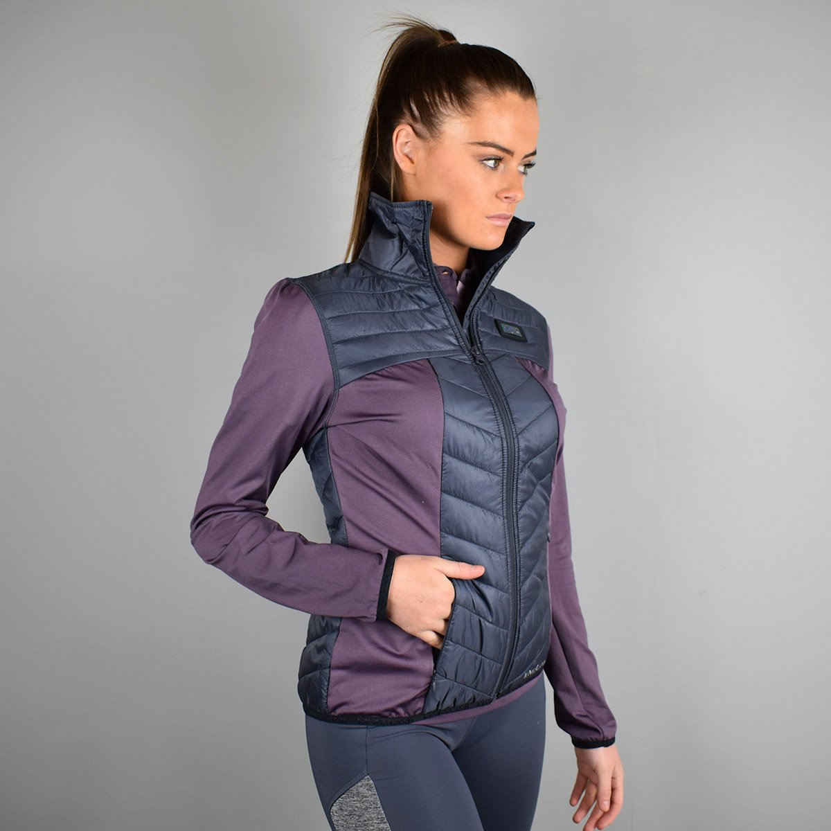 Kingsland Klawock Ladies Jacket in Violet Vintage