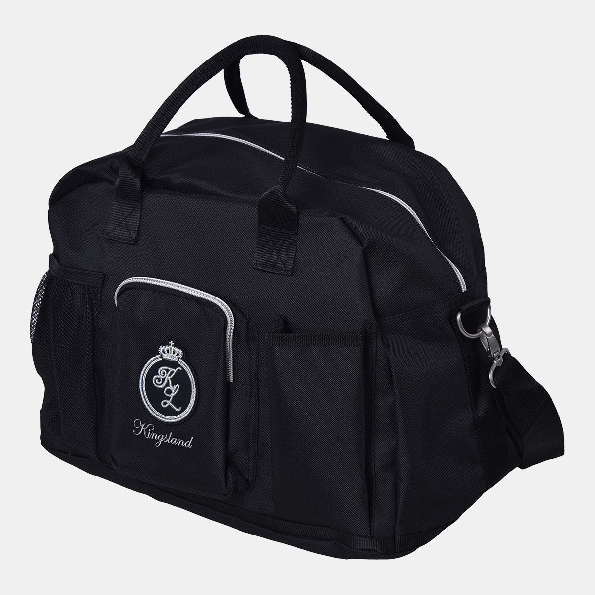 Kingsland La Bouverie Grooms Bag in Black