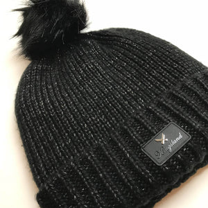 Kingsland Laboulaye Knitted Hat in Black