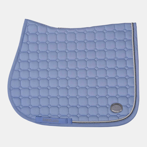 Kingsland Las Flores Dressage Saddlepad in Blue Kentucky