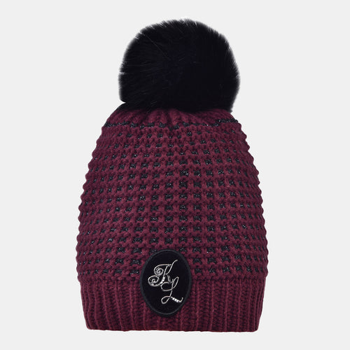 Kingsland Makenzie Knitted Hat in Red Port Royal