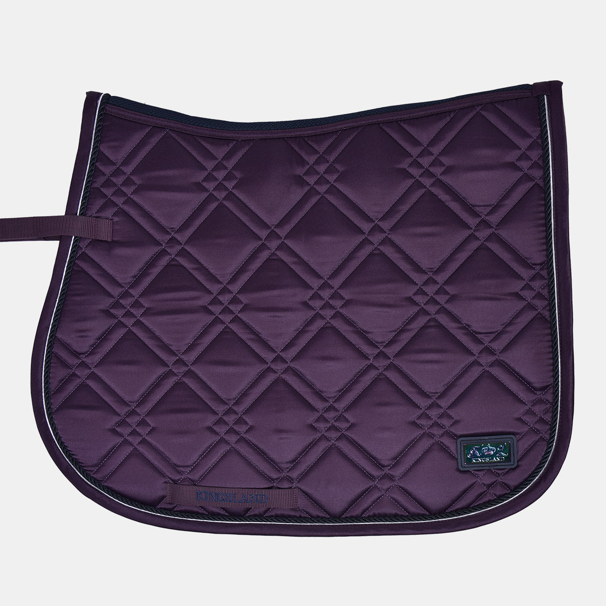 Kingsland Seldovia Dressage Saddlepad in Violet Vintage