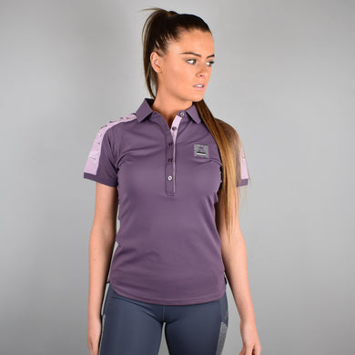 Kingsland Tenana Ladies Polo in Violet Vintage
