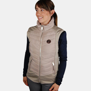 PS of Sweden Selma Gilet in Sand