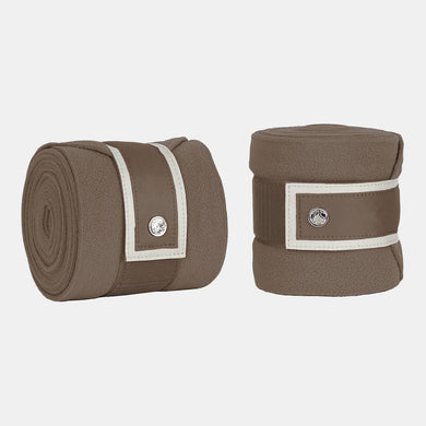 PS Monogram Fleece Bandages in Walnut