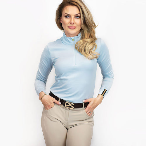 PS of Sweden Bonnie Training Top in Sky Blue