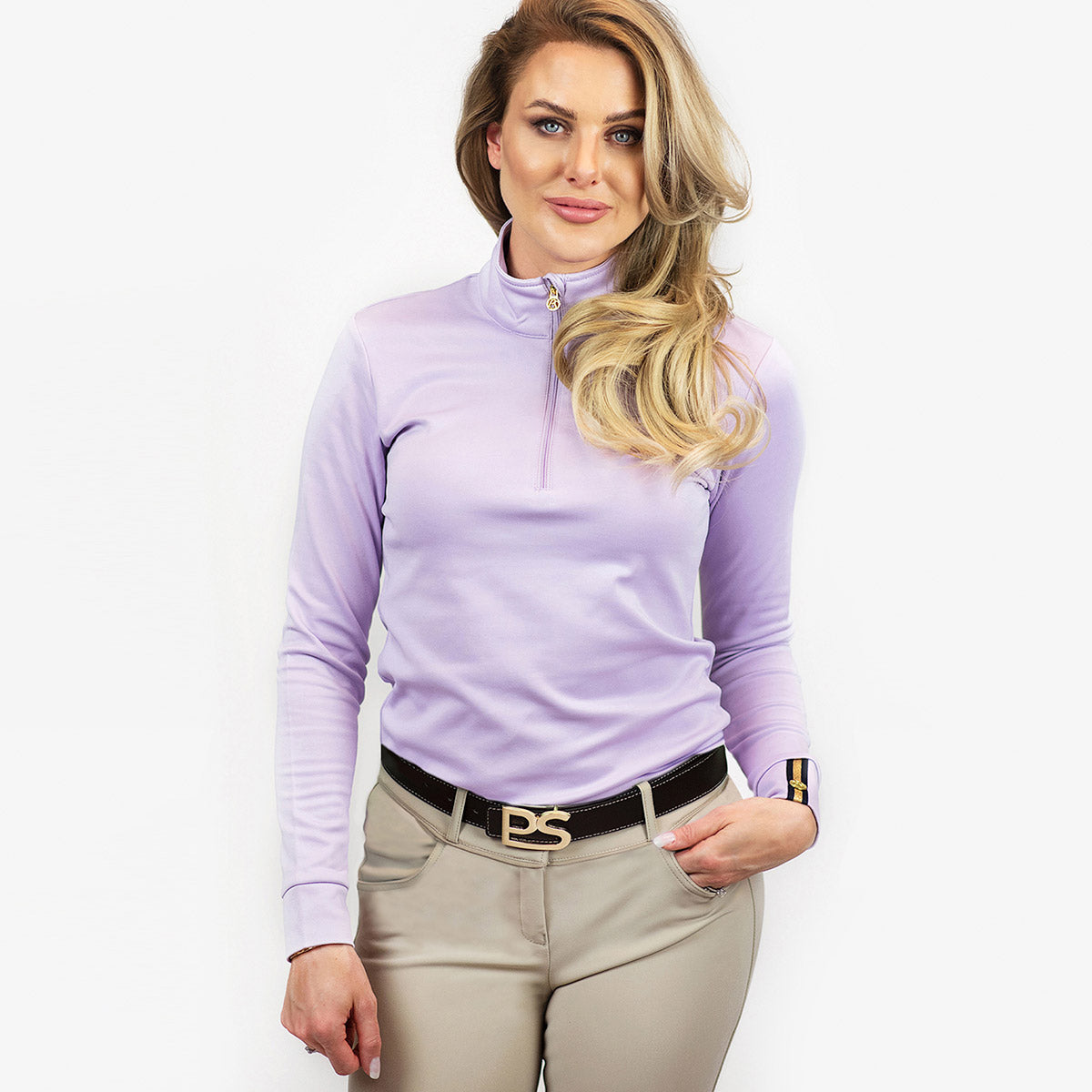 PS of Sweden Bonnie Training Top in Soft Lilac