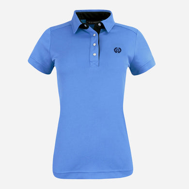 PS of Sweden Darling Polo Shirt in Blueberry