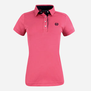 PS of Sweden Darling Polo Shirt in Cranberry