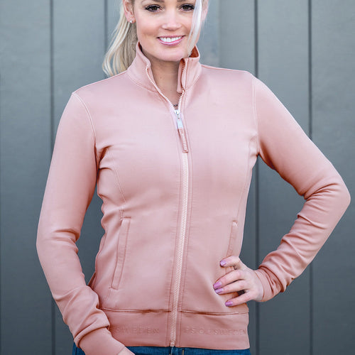 PS of Sweden Faith Half-Zip Sweater - Pink