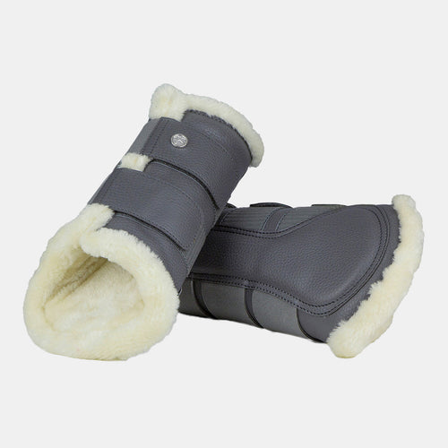 PS Monogram Brushing Boots 4pk in Grey