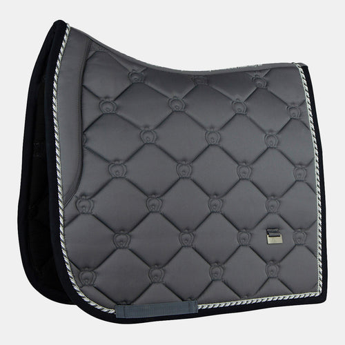 PS of Sweden Monogram Dressage Saddlepad in Anthracite