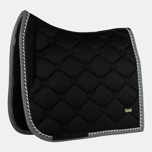 PS of Sweden Monogram Dressage Saddlepad in Black