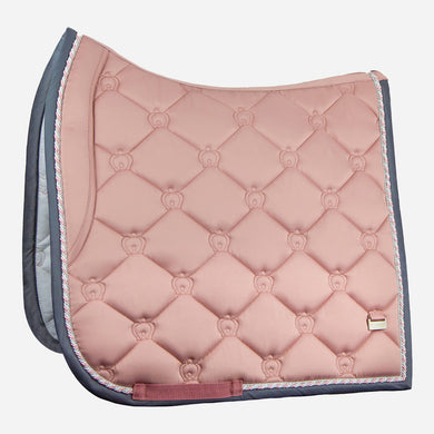 PS of Sweden Monogram Dressage Saddlepad in Blush
