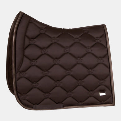 PS of Sweden Monogram Dressage Saddlepad in Coffee