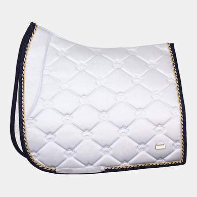 PS Monogram Dressage Saddlepad in Lap of Honor