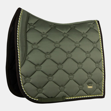 PS of Sweden Monogram Dressage Saddlepad in Moss