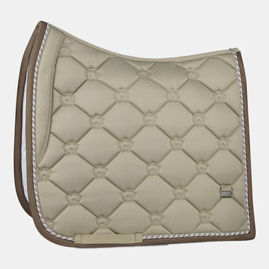 PS of Sweden Monogram Dressage Saddlepad in Sand