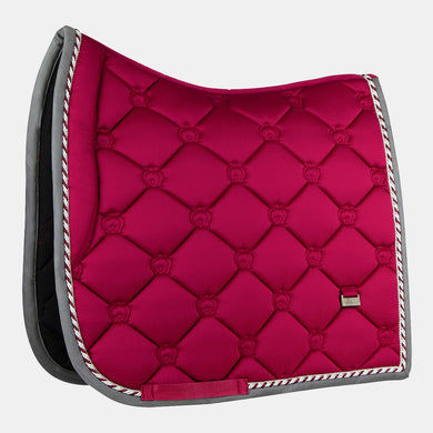 PS of Sweden Monogram Dressage Saddlepad in Scarlet