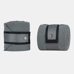 PS of Sweden Monogram Fleece Bandages in Anthracite