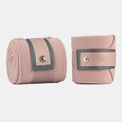 PS Monogram Fleece Bandages in Blush