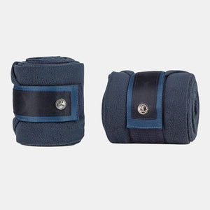 PS Monogram Fleece Bandages in Marine