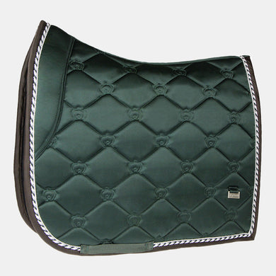 PS Monogram Dressage Saddlepad in Emerald